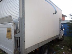 Ldv convoy luton van with tailift 12 months mot New engine fitted 2.5 diesel