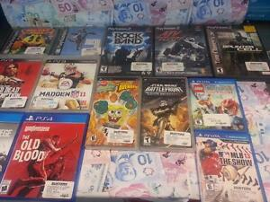 Maximum Cash For Your Used Video Games! Game hypes by Buster's Buy n Sell! Playstation, Xbox, Atari, Nintendo Wii, DS!