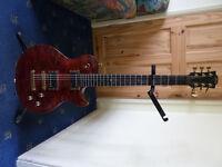 LAG Imperator Masterbuilt guitar; Custom Built like PRS, GIbson, Handbuilt,rare