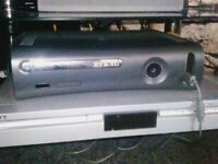 Xbox 360 elite 120gb with 24 games and controller