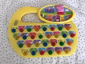 Peppa Pig Fun Phonics Game