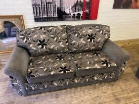GREY SOFA BED WITH MATTRESS WITH NICE DESIGN VERY COMFY FREE DELIVERY