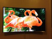 "Samsung Curved 48"" TV"