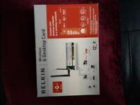 Belkin Wireless G Desktop Card