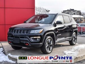 2017 Jeep Compass Trailhawk +TOIT PANORAMIQUE- CUIR- CAM DE RECU
