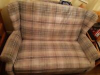 Next 2 seater settee & 2 x chairs