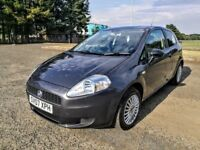 Fiat Grande Punto Active 1.2..NEW FULL MOT..NEW OIL+FILTER..NEW CLUTCH KIT..NO ADVIS..3d..GREY..VGC.