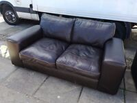 2 leather sofas cost £2000.00,in very good condition,accept £200.00 the pair