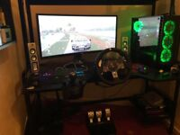 high end gaming pc full set up