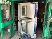 2 DECK GAS CONVECTION OVEN CATERING COMMERCIAL KITCHEN TAKEAWAY FAST FOOD SHOP BAKERY RESTAURANT