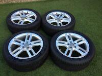 Audi A4 alloy wheels - full set IMMACULATE