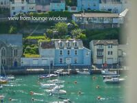 Looe Holiday Cottage with Spectacular Harbour View. Last Minute Cancellation Offer!