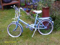 vintage retro gents ladys 20inch bike bicycle 3 speed some folding