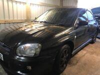 Subaru Impreza 2.0 GX Sport 4dr 2003 (03 reg), Saloon 149,027 miles Manual 2L Petrol MOT 27.11.18