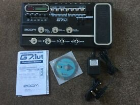 Zoom g7 multi effects pedal with eftp