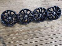 "17"" vauxhall alloys refurbished wheels 5x110 vectra astra h van sxi sri zafira"