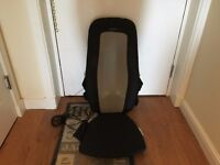 Homedics Extended Track Shiatsu Massager with Heat