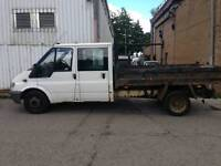 2006 Ford Transit crew cab tipper low miles years mot no vat