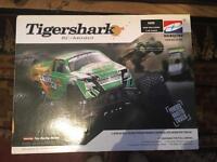 Hbx 1/8 nitro rc tigershark monster truck
