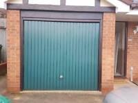 Garage door & frame