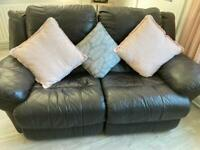 2 Seater Leather Recliner Sofa GREAT CONDITION