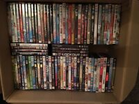 245 DVDs, various titled