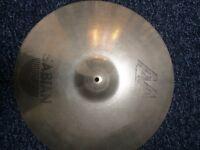 """£30 Ono Cracked Sabian AA 20"""" Medium Ride cymbal"""