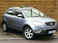 SsangYong Korando 2.0 ES 5dr FULL LEATHER/SUNROOF (sable grey metallic) 2011