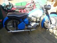 BSA A7.IN PARTLY RESTORED CONDITION