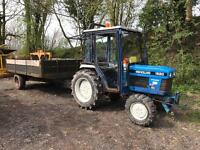 Ford / New Holland 1520 Compact Tractor With Tipping Trailer