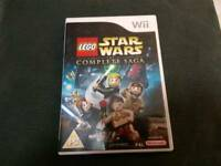 Nintendo Wii Lego Star Wars The Complete Saga Game