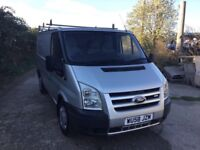 58 REG FORD TRANSIT SWBASE IN SUPERB CONDITION LOW MILEAGE SIDE DOOR ROLL ON ROOF RACK LOVELY VAN