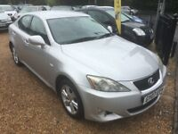 2007 LEXUS IS 220D 2.2 TD 4DR SALOON SILVER SIX SPEED