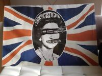 Sex Pistols God Save The Queen Framed Promo Poster 24 x 36
