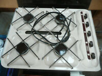 LPG hob with hinged glass cover suit boats and caravans