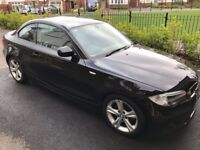 BMW 1 series coupe - black low mileage
