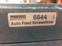 Makita autofeed screwdriver