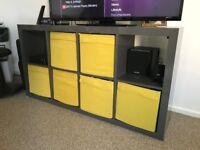Book Shelf - Ikea High Gloss Grey - 147 x 79 cm
