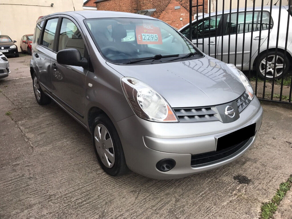 Nissan Note 1.4 16v S 5dr - 2007, 2 Owners from new, 12 Months MOT, Immaculate Car! £1995