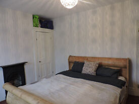 Lovely double room available in beautiful Victorian house in Poet's Corner, Hove.