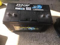 Caravan battery 110ah