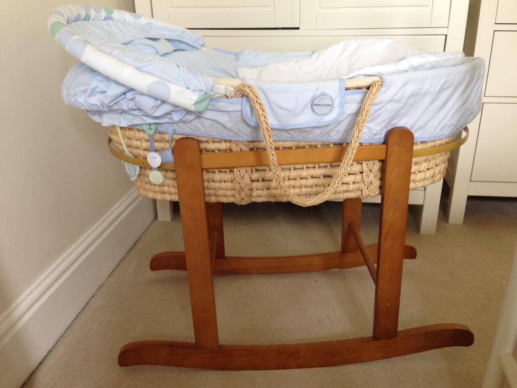 Moses basket and stand/rocker
