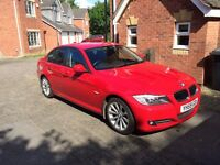2009 59 BMW 320D SE Business Edition with ProNav, leather, USB/Harddrive HiFi, owned from new, 58mpg