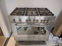6 ring gas oven
