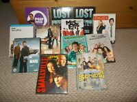 JOBLOT DVD TV Drama Comedy complete boxsets - 12 boxsets in total