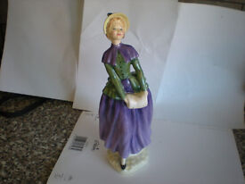 royal doulton figurine florence 1987 made in england