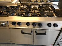Commercial catering equipments Resturant hotels pubs cafe 6 burner oven falcon blue seal