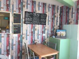 Family run cafe close to Weymouth beach in need of urgent sale due to illness
