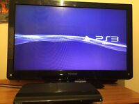 PS3 with 2 controllers and 10 top games