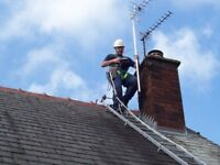 Digital Freeview Tv Aerial Installations Repairs, Bradford , Leeds, Cherry Picker